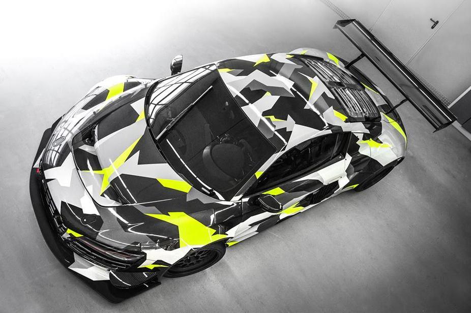 Mclaren Kit Car >> Audi R8 GT3 LMS Recon MC8 Gets an Urban Camo Wrap