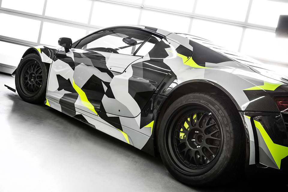 Audi R8 Gt3 Lms Recon Mc8 Gets An Urban Camo Wrap