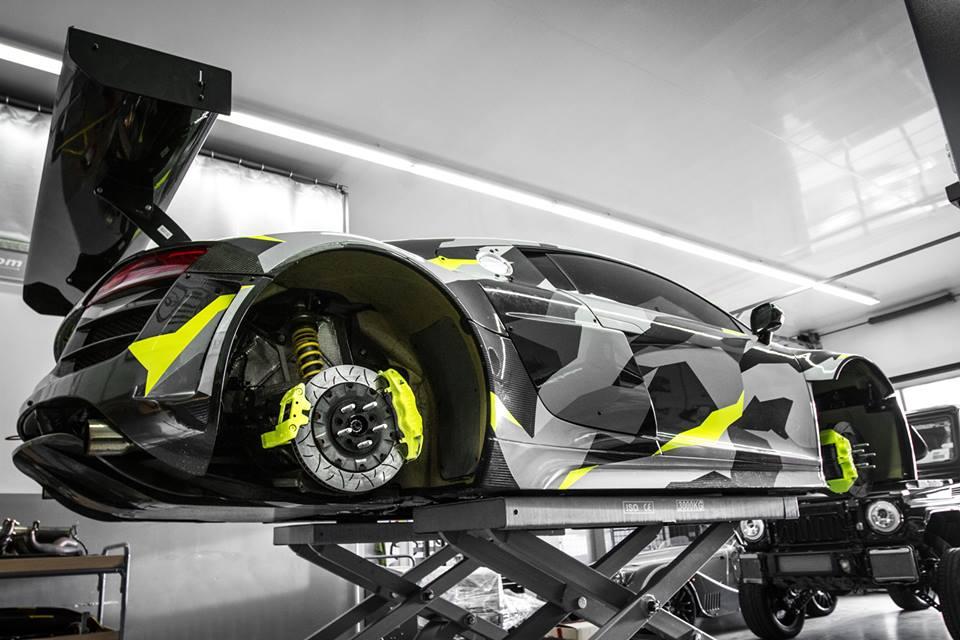 Audi R8 Gt3 Lms Recon Mc8 Gets An Urban Camo Wrap