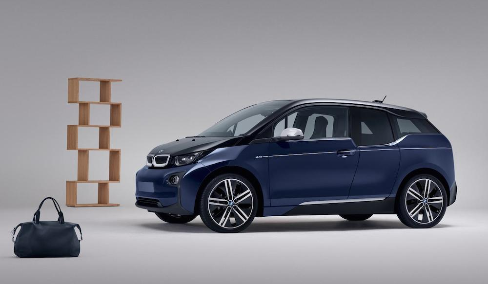 bmw i3 mr porter edition. Black Bedroom Furniture Sets. Home Design Ideas