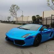 Blue Chrome Gallardo Spyder-1