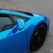 Blue Chrome Gallardo Spyder-10