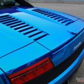 Blue Chrome Gallardo Spyder-11