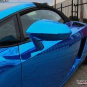 Blue Chrome Gallardo Spyder-12