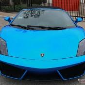 Blue Chrome Gallardo Spyder-2