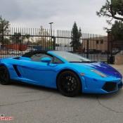 Blue Chrome Gallardo Spyder-3