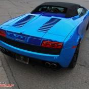 Blue Chrome Gallardo Spyder-5