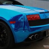 Blue Chrome Gallardo Spyder-6
