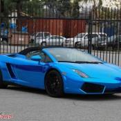 Blue Chrome Gallardo Spyder-7