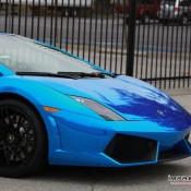 Blue Chrome Gallardo Spyder-8