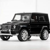Brabus Mercedes G500 SWB-2