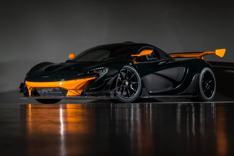 up close with canepa green mclaren p1 gtr