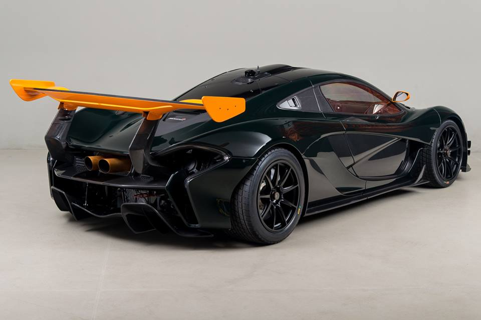 lastcarnews up close with canepa green mclaren p1 gtr. Black Bedroom Furniture Sets. Home Design Ideas
