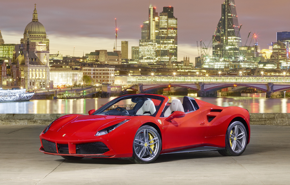 Gallery Ferrari 488 Spider London Launch Event