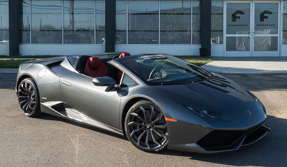 Lamborghini Huracan Spyder By Forgiato Wheels