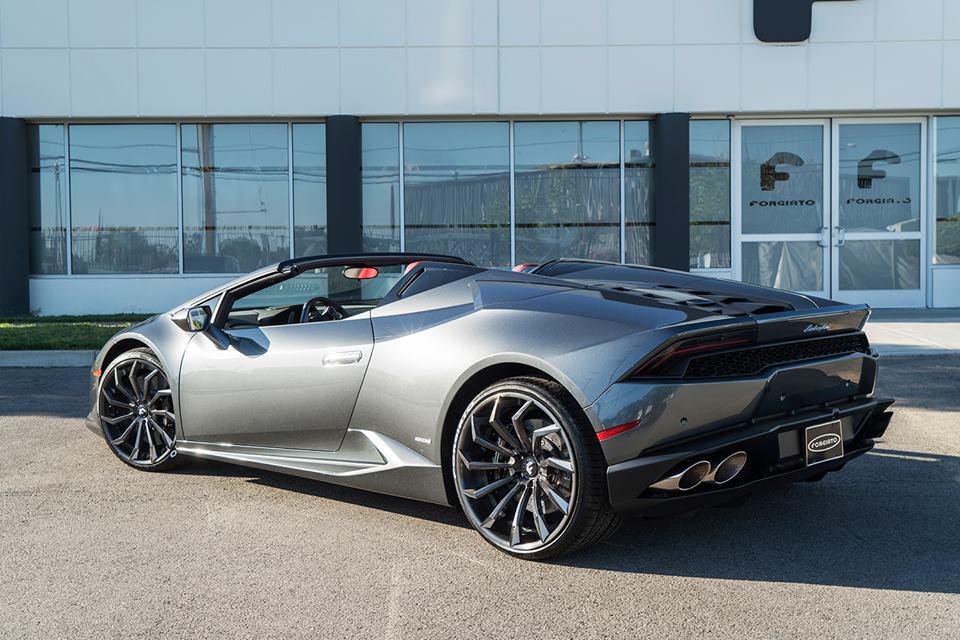 Lamborghini Huracan Spyder By Forgiato Wheels