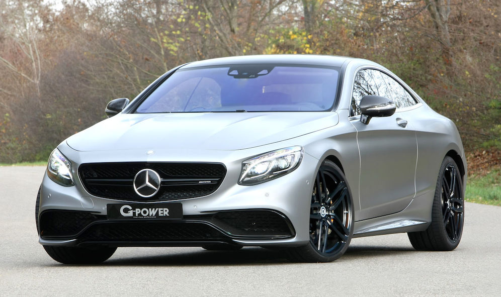G power mercedes amg c63 coupe for Mercedes benz c63 amg coupe 2016