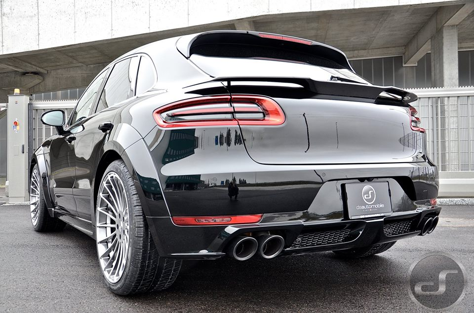 tuningcars up close with hamann porsche macan turbo. Black Bedroom Furniture Sets. Home Design Ideas