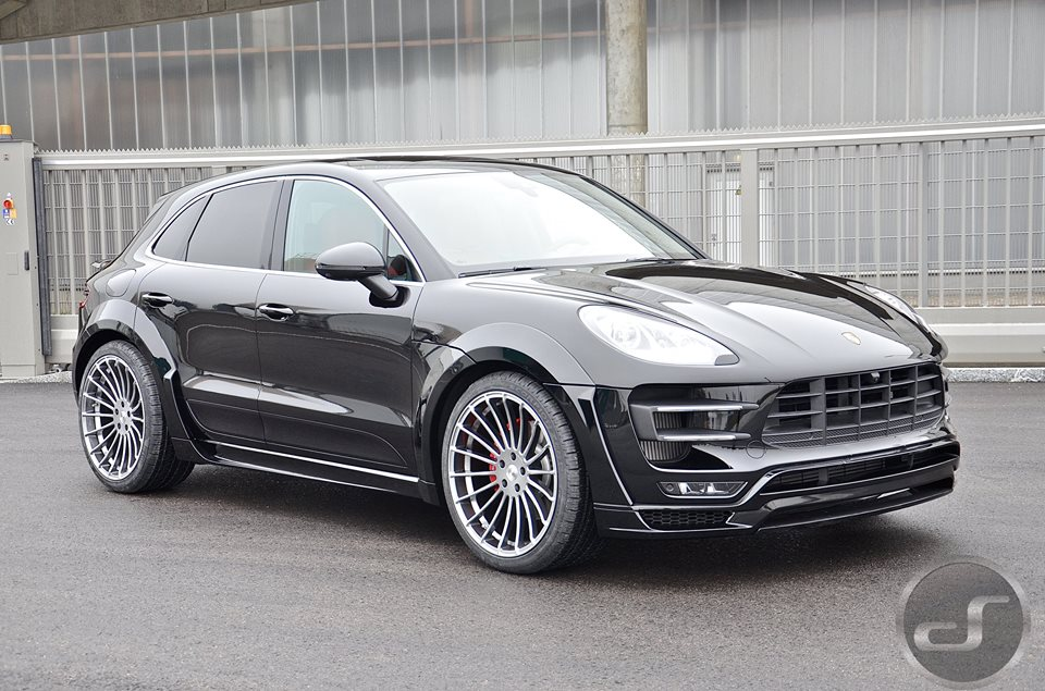 Tuningcars up close with hamann porsche macan turbo