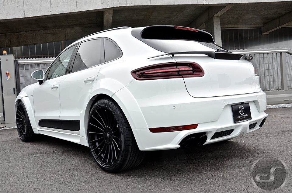 Hamann Porsche Macan Looks Great In White