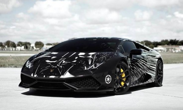 Lamborghini Huracan Darth Vader-0