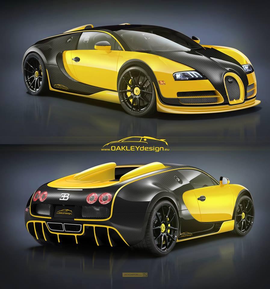 Oakley Design Bugatti Veyron Is Ready