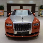 Orange Metallic Rolls-Royce Ghost-11