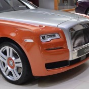Orange Metallic Rolls-Royce Ghost-2