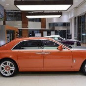 Orange Metallic Rolls-Royce Ghost-3
