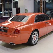 Orange Metallic Rolls-Royce Ghost-4