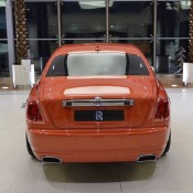 Orange Metallic Rolls-Royce Ghost-5