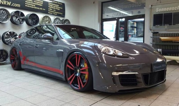 Porsche Panamera GT3 Look 0 600x357 at Porsche Panamera Turbo with 997 GT3 RS Look