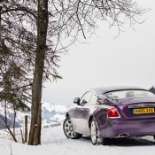Purple Rolls-Royce Wraith-Alps-11