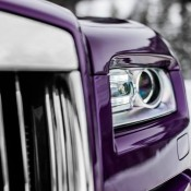 Purple Rolls-Royce Wraith-Alps-4