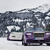 Purple Rolls-Royce Wraith-Alps-5