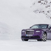 Purple Rolls-Royce Wraith-Alps-6