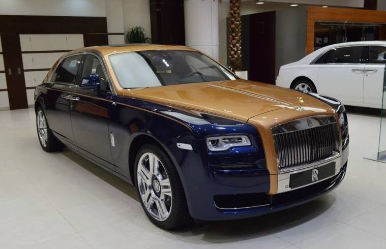rolls royce ghost mysore spotted for sale motorward. Black Bedroom Furniture Sets. Home Design Ideas