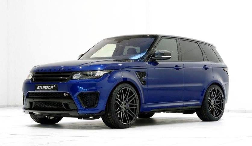 Range Rover Sport Svr 2018 >> Range Rover Sport SVR Gets Startech Options