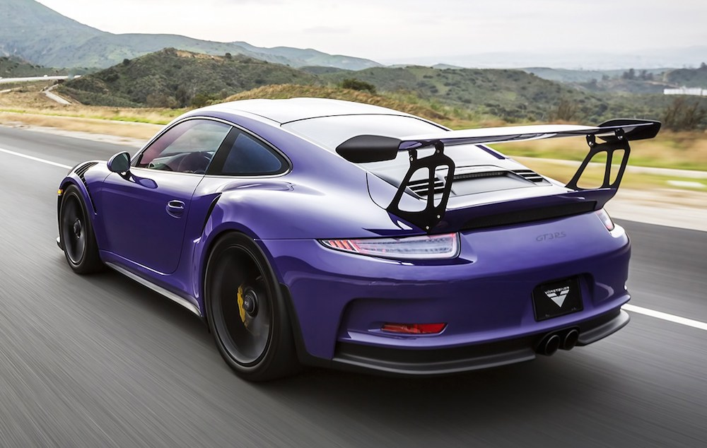 vorsteiner porsche 991 gt3 rs purple beast. Black Bedroom Furniture Sets. Home Design Ideas