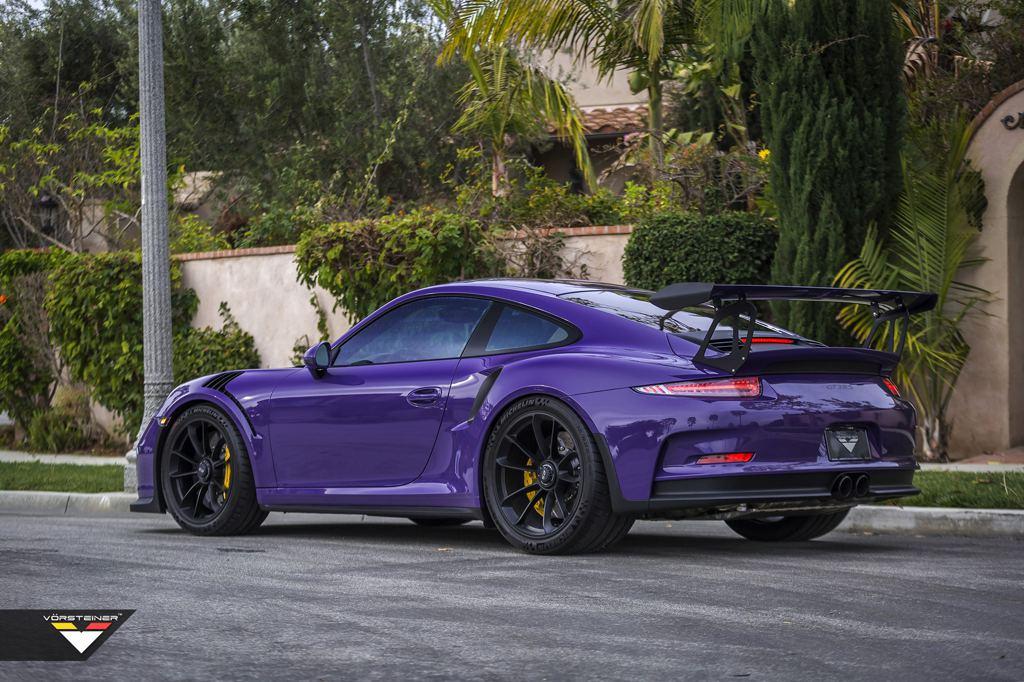 Vorsteiner Porsche 991 Gt3 Rs Purple Beast