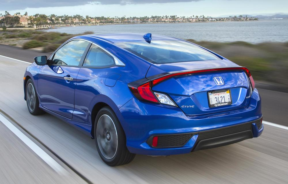 2016 honda civic coupe priced from 19 050. Black Bedroom Furniture Sets. Home Design Ideas