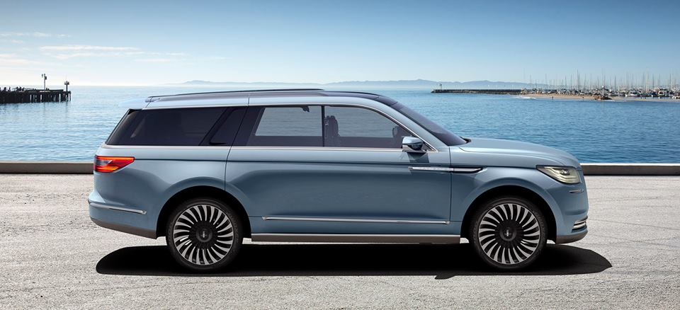 2017 Lincoln Navigator Concept Unveiled at NYIAS - Motorward