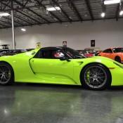 Acid Green Porsche 918-1