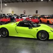 Acid Green Porsche 918-2