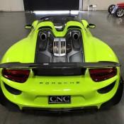 Acid Green Porsche 918-5