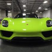 Acid Green Porsche 918-7