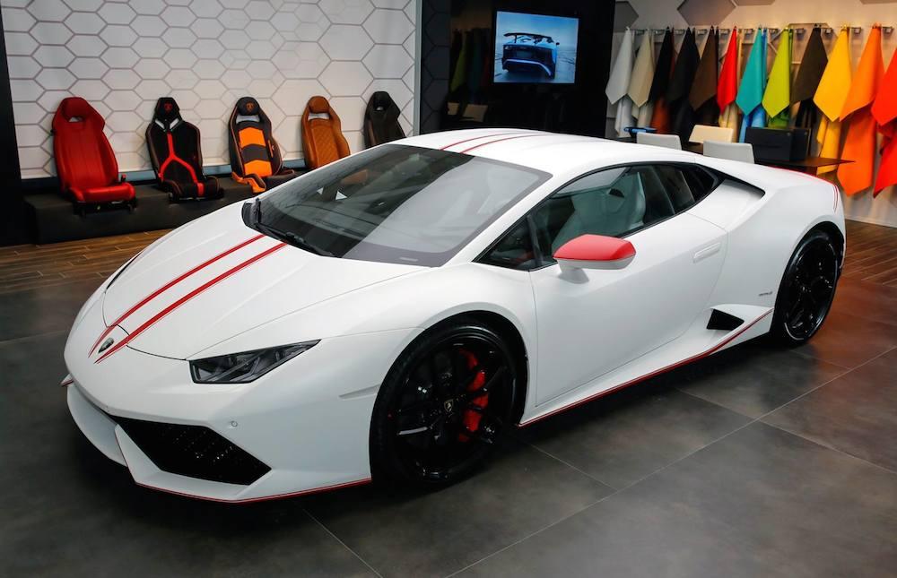 Spotlight Lamborghini Huracan Ad Personam