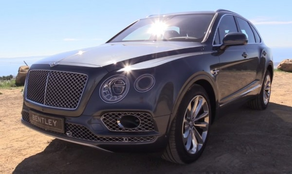 Bentley Bentayga W12-vid