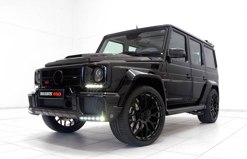 mercedes benz g63 brabus - photo #23