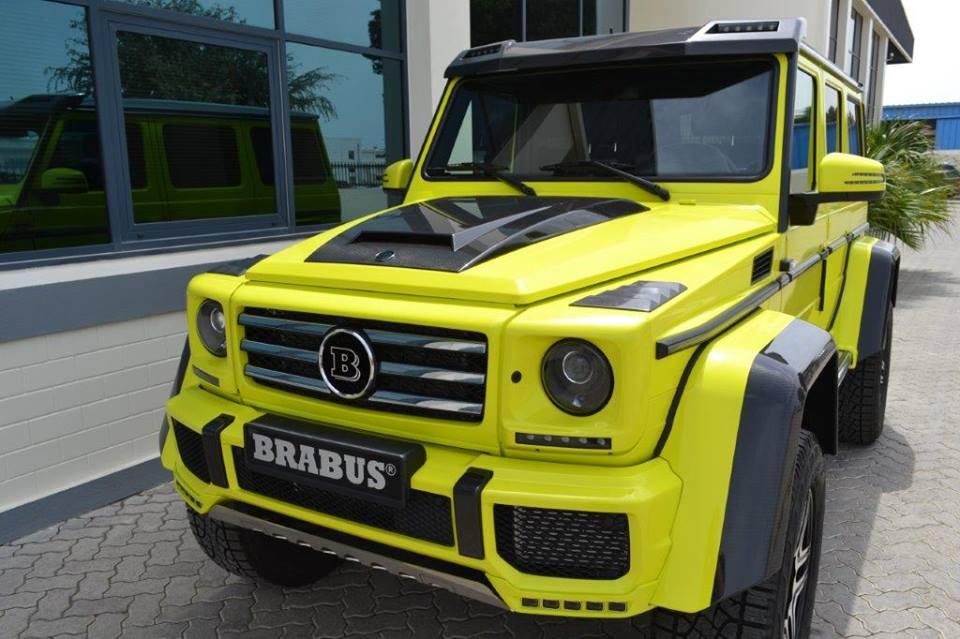 Brabus Mercedes G500 4x4 In Uae